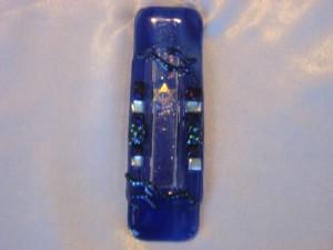 mezzuzah #5 blue